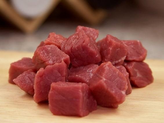 اللحوم المجمدة