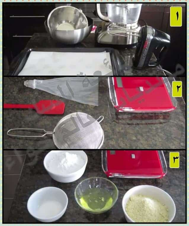 ادوات صناعة حلوى الماكرون