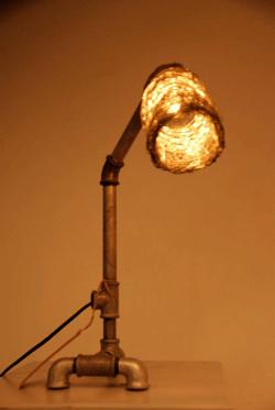 مصباح معدني