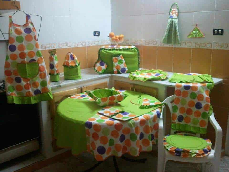 خياطة لوازم المطبخ