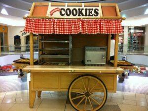 عربة الكعك