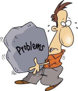 مشاكل الحياة