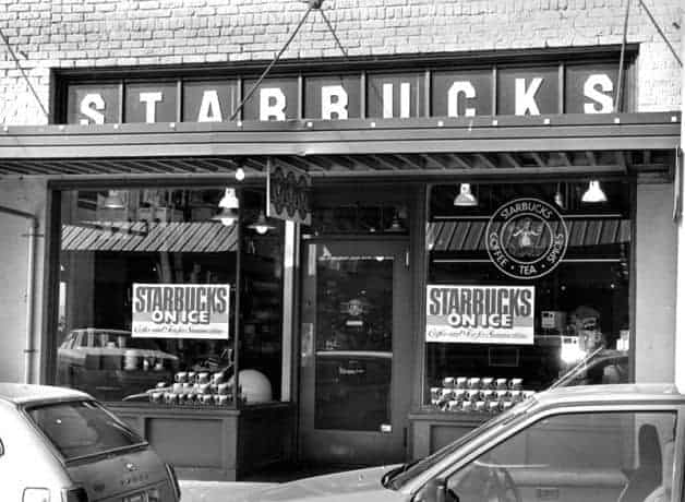 ستاربكس قديماً