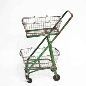 عربة التسوق قديماً