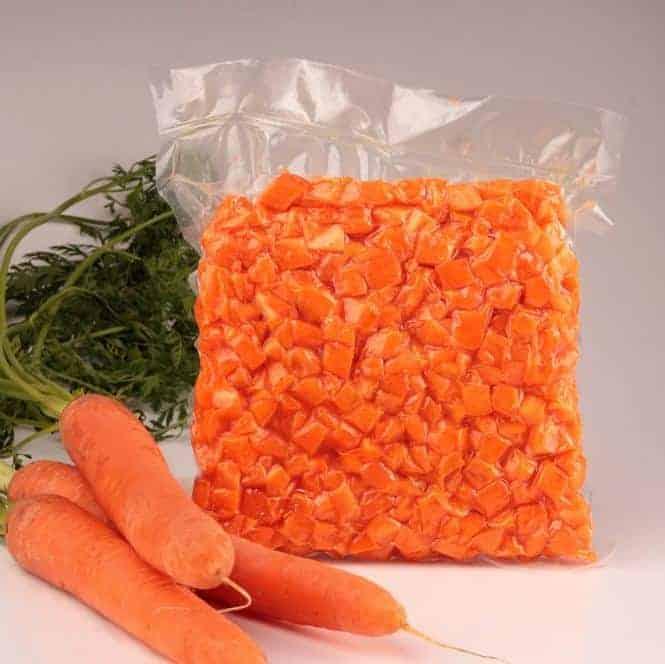 مشروع تجهيز الخضروات