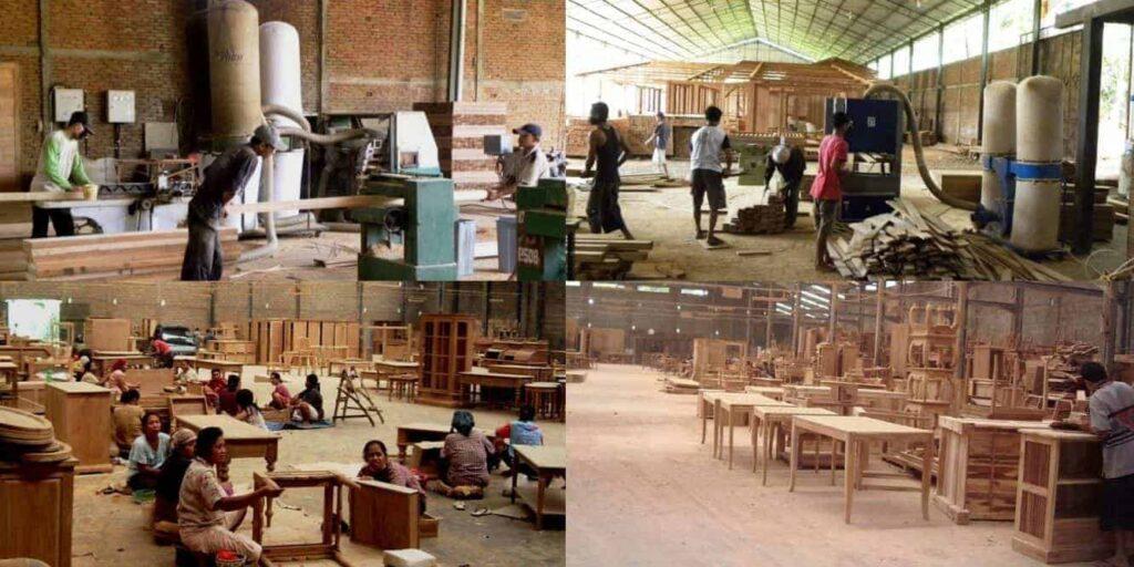 صناعة الخشب والاثاث في ماليزيا