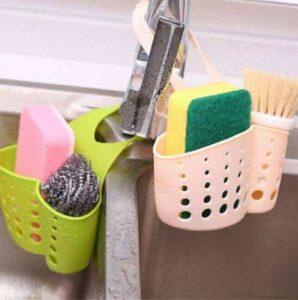 حامل ادوات وفرش التنظيف