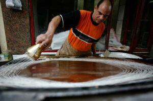 صناعة الكنافة
