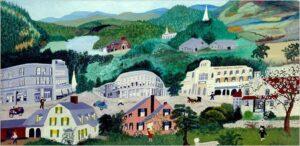 لوحات الجدة موسز