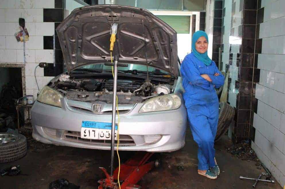 ورشة سيارات