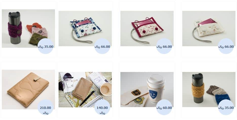 مشروع متجر الكتروني لبيع المنتجات اليدوية