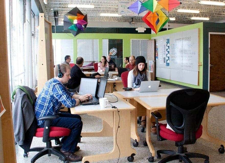مشروع Co-Working space1