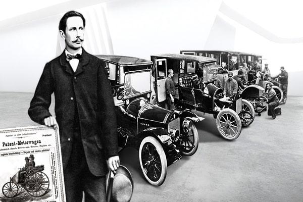"""قصة نجاح كارل بنز """"مخترع السيارة"""" - مشاريع صغيرة"""